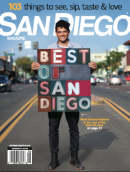 San Diego Magazine Aug Issue Spotlights Rick Najera