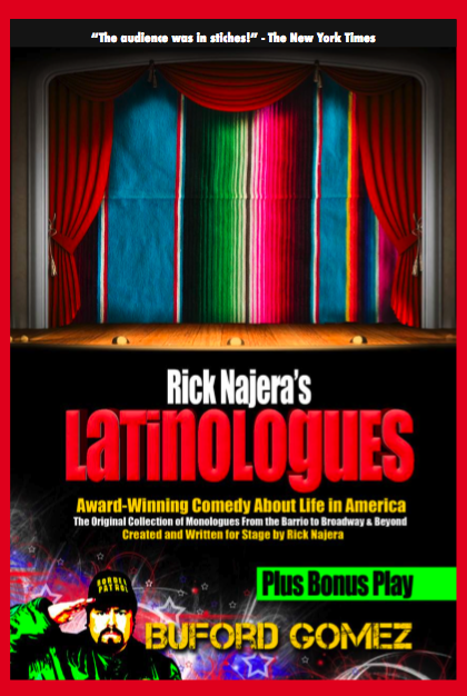 Latinologues the Book by Rick Najera