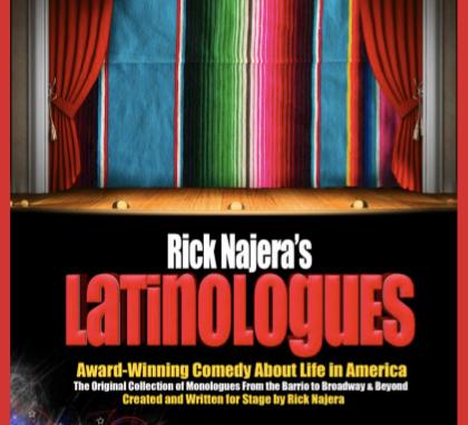 Latinologues the Book by Rick Najera